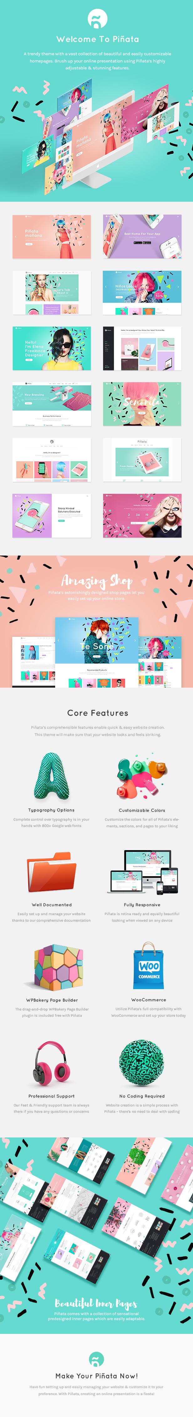Piñata - Creative Agency Theme - 1